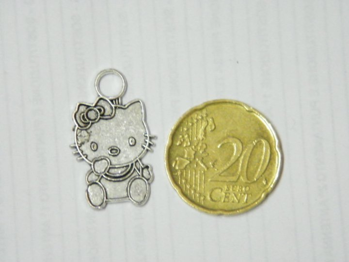 Charm hello kitty silver
