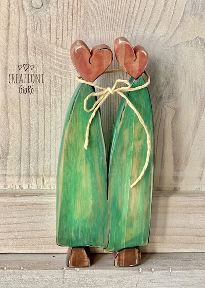 Alberelli in legno massello