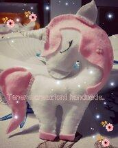 unicorno in feltro