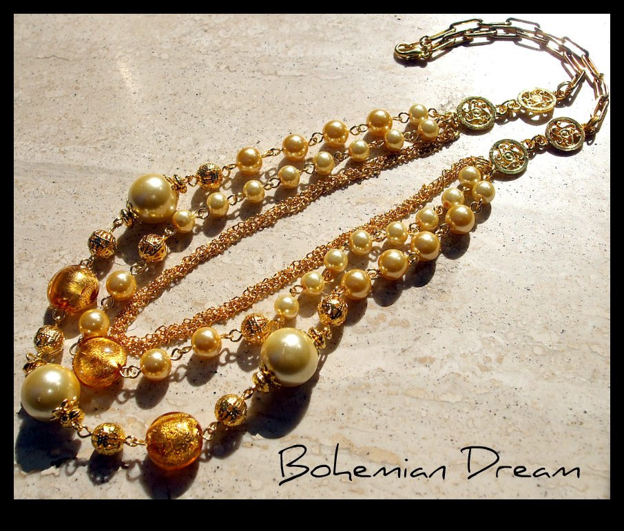 Collana ''Bohemian Dream''
