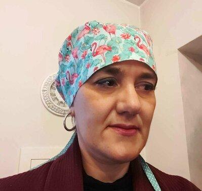Cartamodello e tutorial per realizzare CUFFIA chirurgica