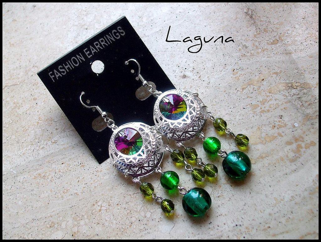 Orecchini ''Laguna''