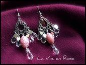 Orecchini ''La Vie en Rose''