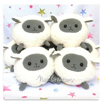 Pupazzo Pecora Lullaby - Fanta Pets by Nixie Creations