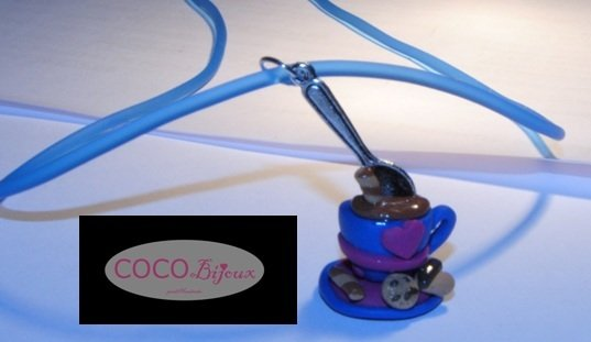 collana cioccolata in tazza