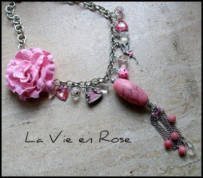 Collana ''La vie en Rose''