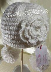 Cappello Bambina 0/3 mesi variante 1