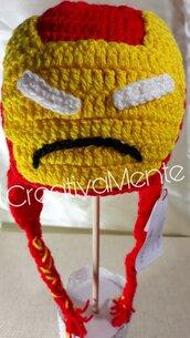 Cappello Bambino Iron Man 6/9 mesi