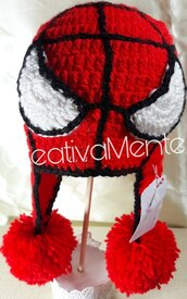Cappello Bambino  Spiderman 6/9 mesi