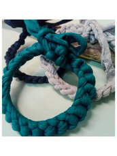"Set tre bracciali ""Blue"""