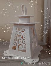 Fustellato lanterna albero vita