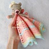 Doudou Stella, orsetto in lana baby