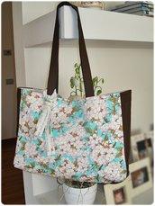 Cherry blossom shopping bag
