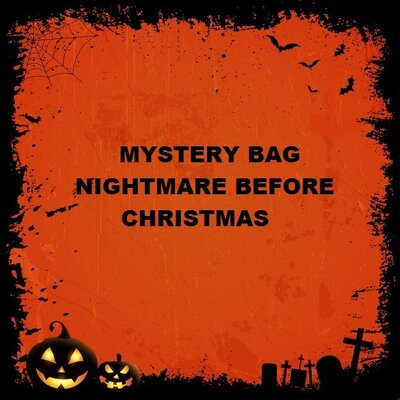 Borsa Misteriosa Nightmare Before Christmas + Regalo