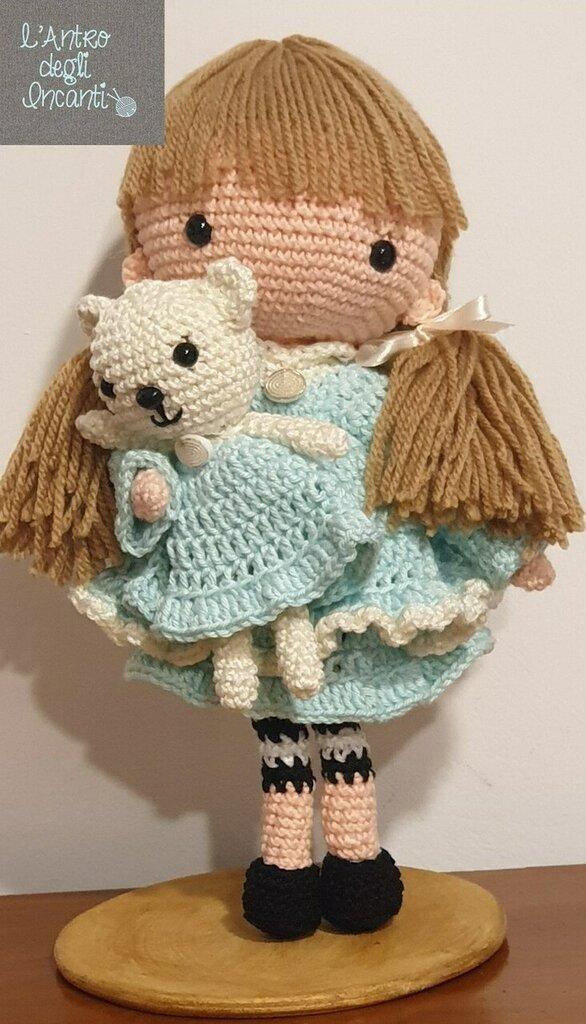 Amigurumi bambola Gennaio