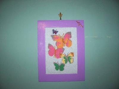 Cornice farfalle