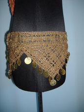 CINTURONE CROCHET MARRONE