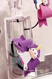Cerchietti personalizzati - unicorno- olaf- frozen