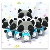 Pupazzo Rascal - Procione Dispettoso - Fanta Pets by Nixie Creations