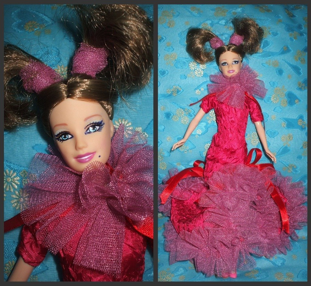 bambola tipo barbie ooak