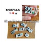 Lotto miniature sushi