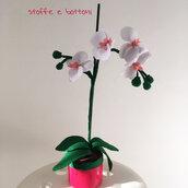 Orchidea in panno