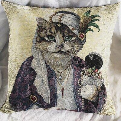 """Cuscino """"gatto Maharaja"""""""
