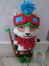 Peluche ispirato a Teemo- League of legends - Online game