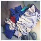 Set due bracciali in fettuccia di cotone