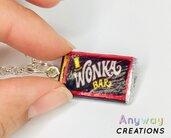 Collana con Cioccolato Wonka fatta a mano