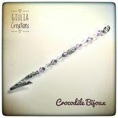Crocodile Bijoux per bracciale