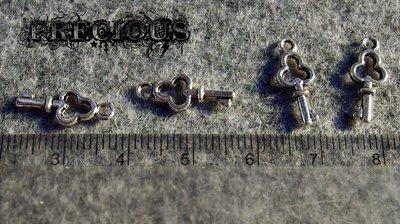 10 pz charms piccola chiave