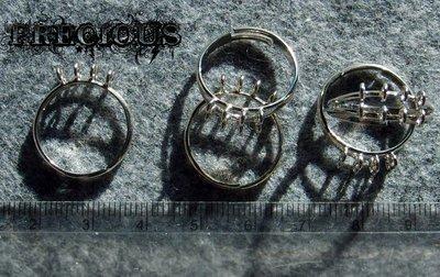 Base per anello regolabile con 8 ganci