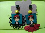 Orecchini asimmetrici Frida