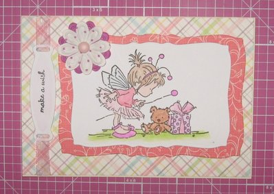 "Card ""make a wish"""