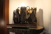Paradiso Perduto - lampada in legno