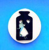 Stampo in gomma siliconica Alice nel Paese delle Meraviglie