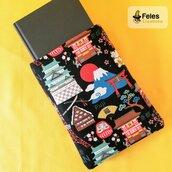 """Booksleeve per proteggere libri, agende e tablet a tema """"Viaggio in Giappone"""""""