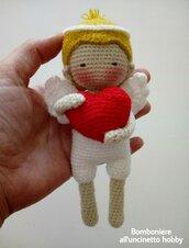 Cupido amigurumi San Valentino.