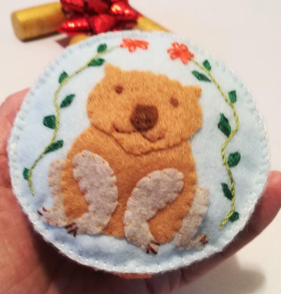 Cuscinetto puntaspilli wombat