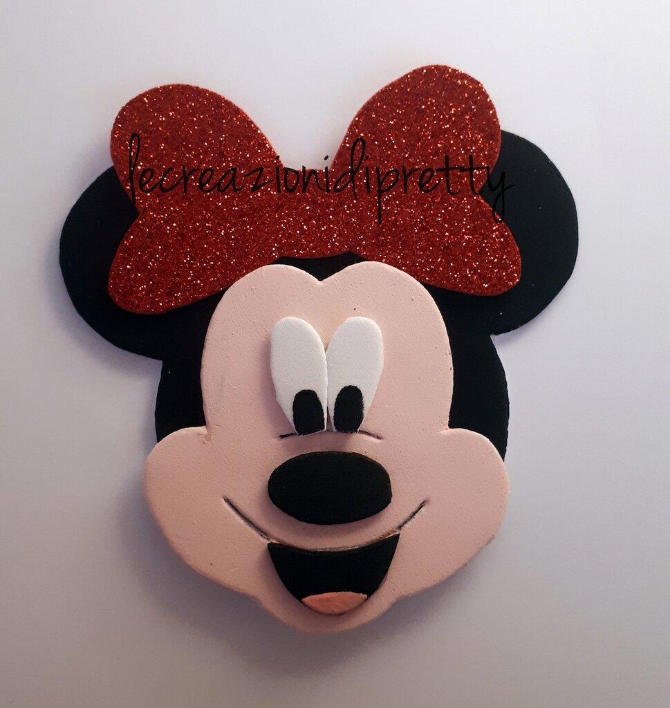 Magnete Minnie in gomma eva
