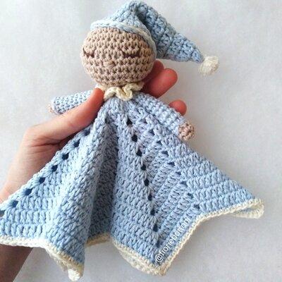 Doudou per neonato in cotone