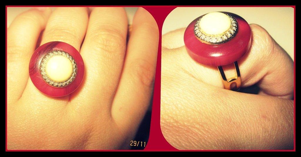 anello con bottoni