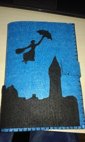 Fodera per agenda Mary Poppins