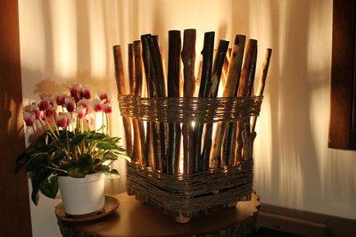 La Palizzata - lampada in legno