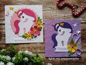 Invito per Compleanno Unicorno, Magical #Pony.