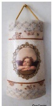 Tegolina in ceramica vintage
