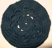 Flower slouch hat