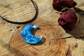 collana luna blu