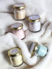 bomboniere candele profumate in cera di soia